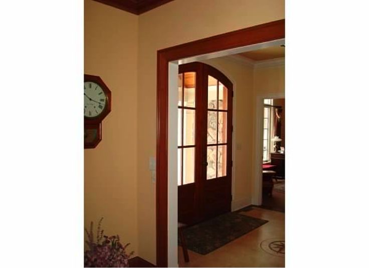 165 best images about rooms with wood stained trim on for Combining stained and painted trim