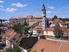 Český Krumlov, Města, Zámek, Historické