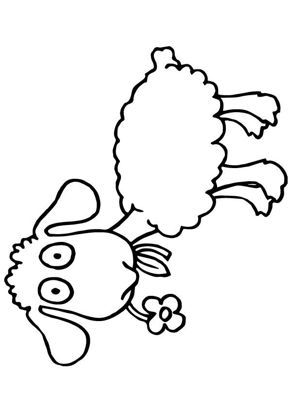 Click Share This Story On Facebook Color Coloring Pages Sheep
