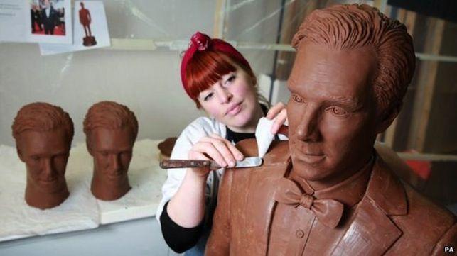 Benedict Cumberbatch à la saveur chocolat - Joyeuses Pâques (#Chocobatch)