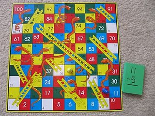 Ditch the spinner and use basic fact cards to determine how many spaces to move. What a great idea!