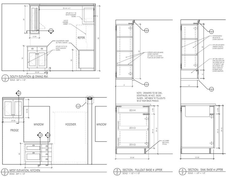 Cabinet Sections Drawing - Google Search