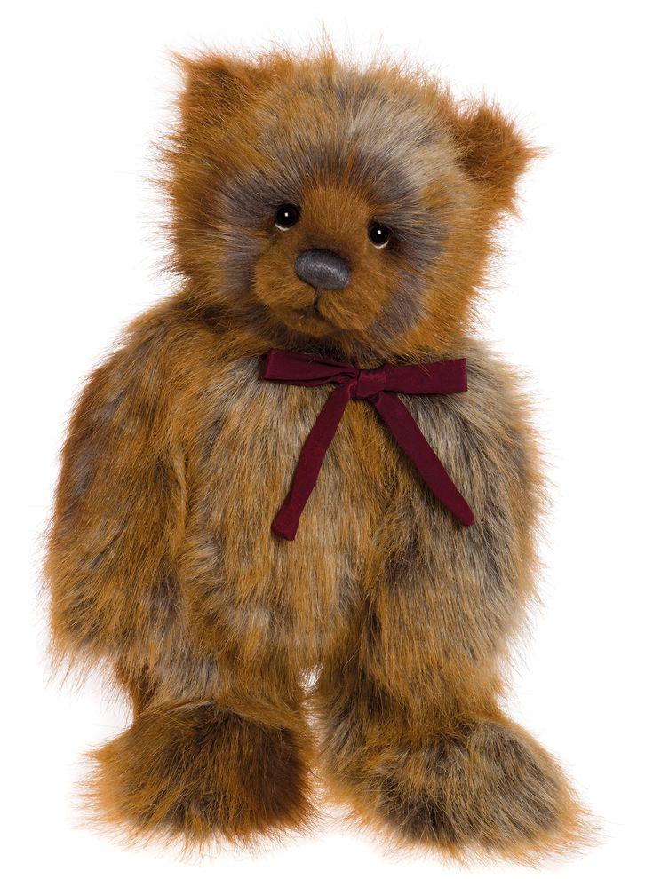 Charlie Bears 2016 Gingerbread Ted Bear