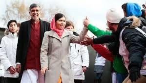 India, Pakistan at One Stage as Malala, Satyarthi Receive Nobel Peace Prize #IndiawithPakistan