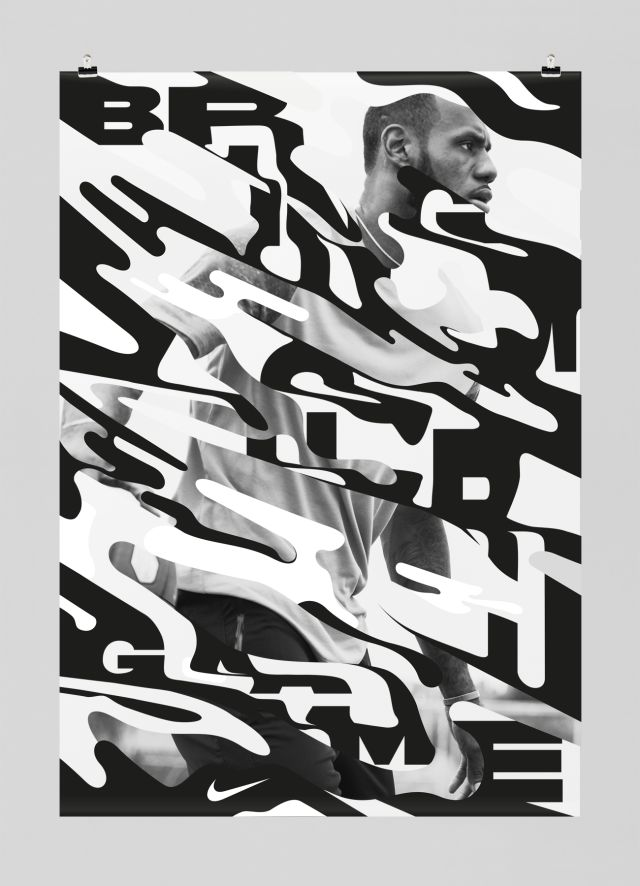 Experimental type #poster #graphicdesign #type