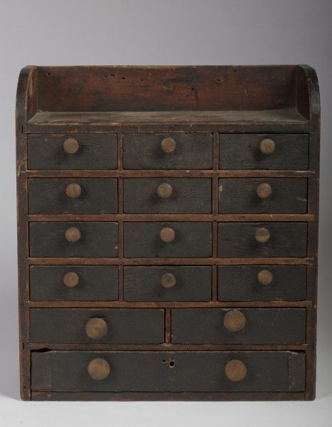 """Painted Spice Cabinet. 23 1/4"""" H, 20 3/4"""" W, 9 1/2"""" D"""