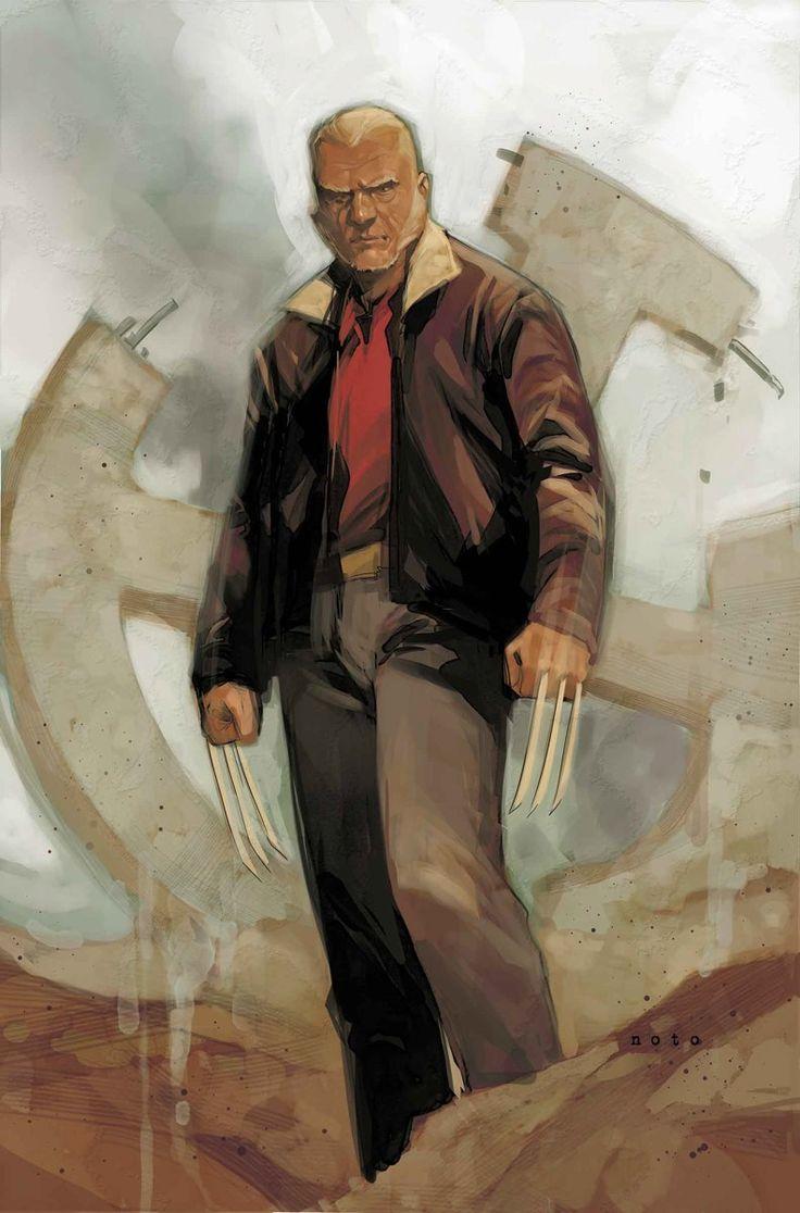 Civil War II #6 - Old Man Logan variant cover by Phil Noto