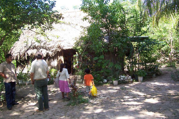 Coba mayan village