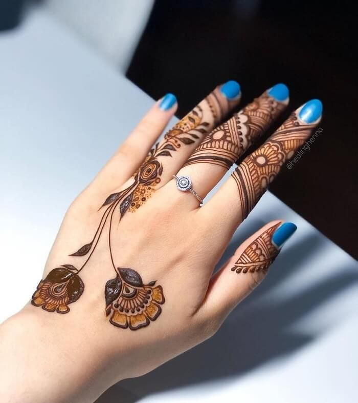 Trendiest Pakistani Mehndi Designs For 2020 For Our Brides