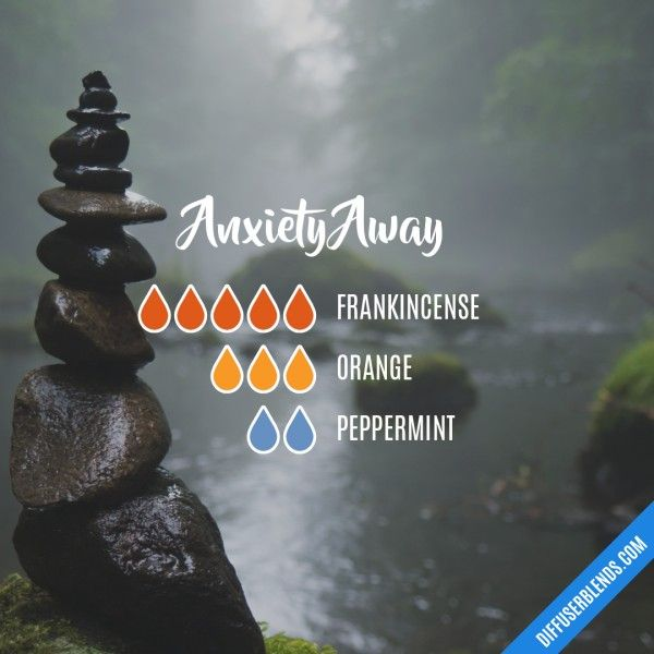 Anxiety Away Diffuser Recipe