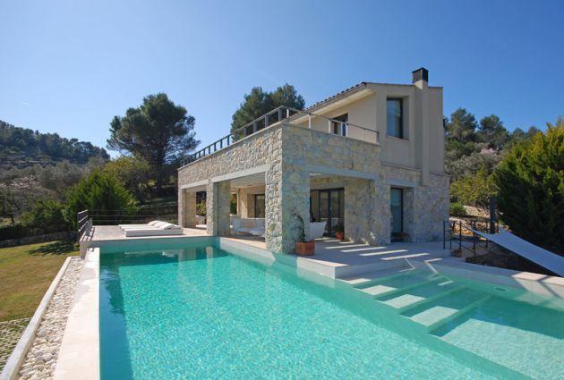 Finca Mallorca Selva 7 Personen Gebäude