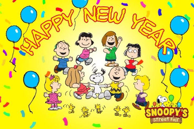 Happy New Year With the Entire Peanuts Gang, Snoopy