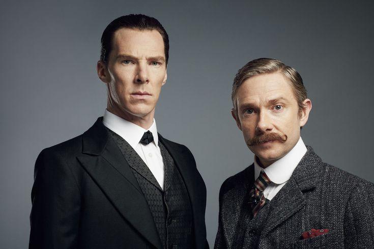 Walk in the shoes of Benedict Cumberbach as you explore the set of Sherlock's 'The Abominable Bride'. Sherlock © BBC Hartswood Robert Viglasky