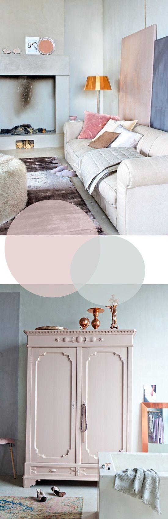 Pastel roze voor de inrichting | Wooninspiratie