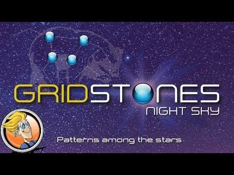 WOO HOOO!  One of our favourite #AbstractGames is getting a 10th Anniversary reprint, Gridstones by Tim Brown!  Looks great!  I'm excited for the new variant cards!  Gridstones: Night Sky — game preview at Origins Game Fair 2017
