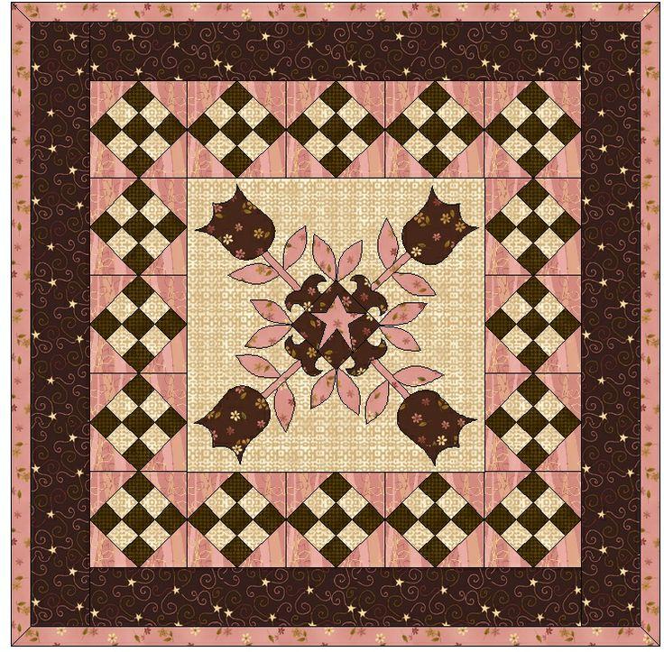 168 Best Quilts Tulip Quilts Images On Pinterest Quilt