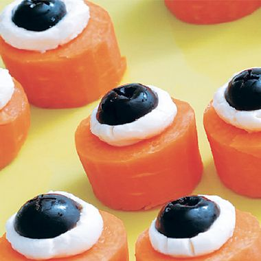 Monster Eyeballs - perfect for a Halloween buffet!