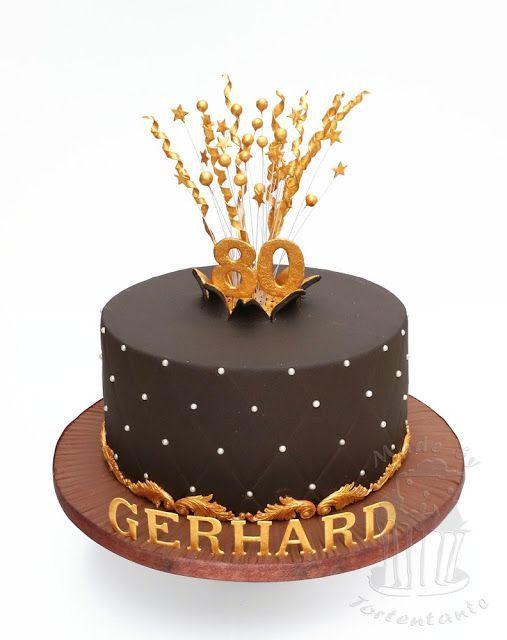 Explosions Torte zum 80. Geburtstag - opulent und spritzig | Tortentantes Tortenwelt - DER Tortenblog mit Anleitungen und Tipps für Motivtorten | Bloglovin'