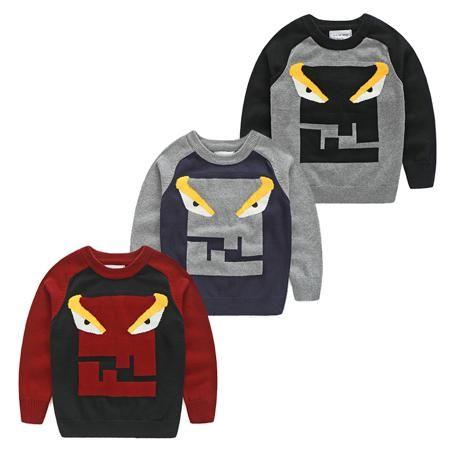 Корейские дети хлопок crewneck свитер, свитер утолщенной ребенка к 2015 году новых Детская одежда на осень/зима мальчиков кофты прилива  — 602.23р.
