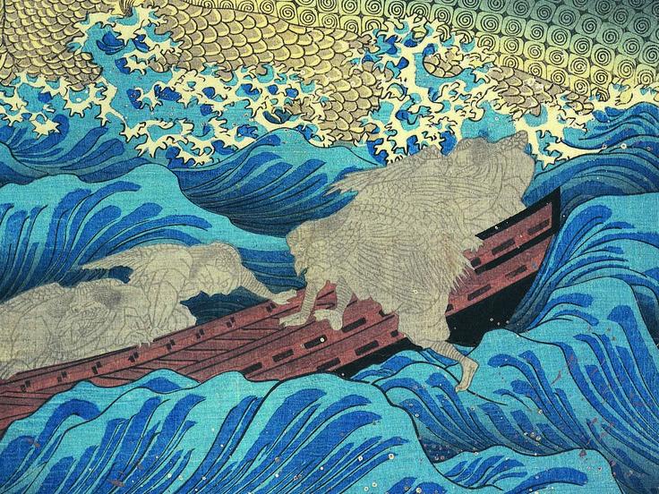 le Petit Palais expose le fantastique Kuniyoshi