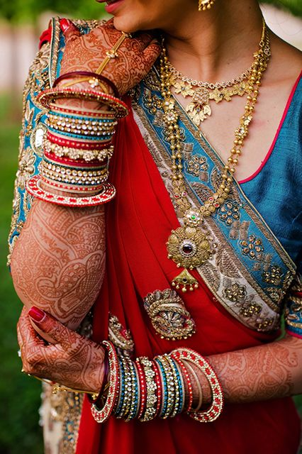 This Glamorous Hindu Wedding Is Beyond Breathtaking #refinery29  http://www.refinery29.com/lover-ly/68#slide16
