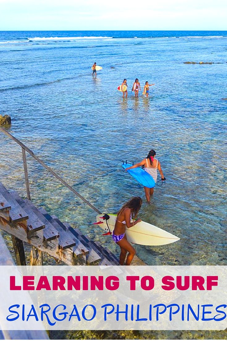 Looking for a cheap, beautiful place to learn to surf? Siargao was by far the best and easiest place I've ever tried to surf. 3rd time's the charm!