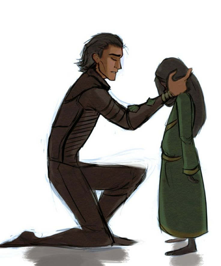 Loki and his daughter Hel | Cute, Funny, and Nerdy Stuff ...