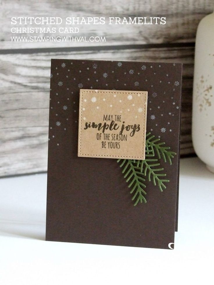 Stampin' Up! UK - Stitched Shapes Framelits - Stamping With Val - Shop Stampin' Up! HERE 24/7