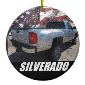 2013 Silverado 3500HD Regular Cab W/T Dually Ceramic Ornament