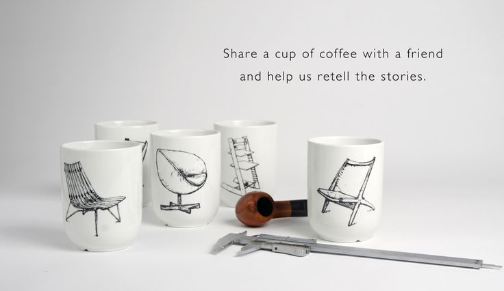 Norwegian Classics tells the story about Norwegian design. Norway has a rich design history, and these cups and towels tells the story about our design heritage. Share a cup of coffee with a friend and help us retell the stories. #NorwegianClassics #Figgjo #cup #Fimbuldesign By FimbulDesign