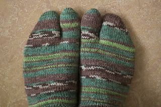 Split toe socks, thong or tabi socks. The size is adjustable and you should be able to make a perfectly fitting socks from the pattern.