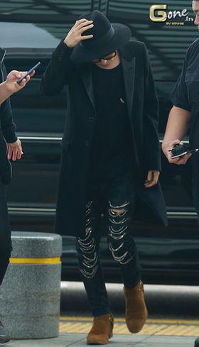【お洒落すぎ】G-DRAGON 空港ファッションまとめ - NAVER まとめ