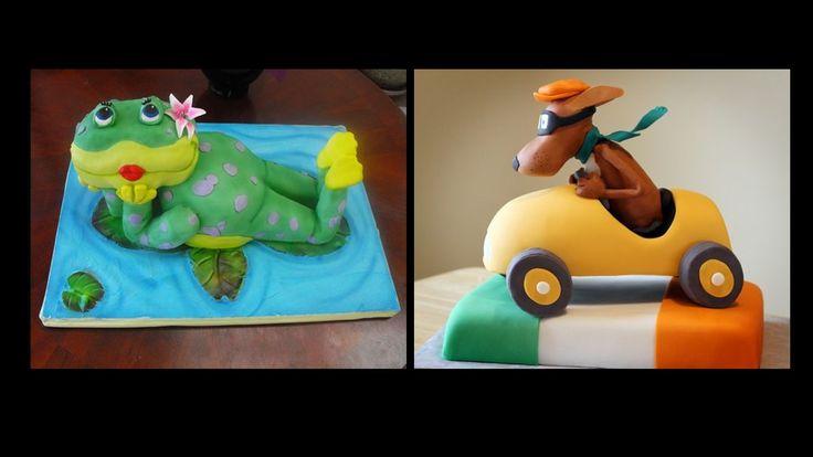 #amazing #cartoon #frog #cake #design