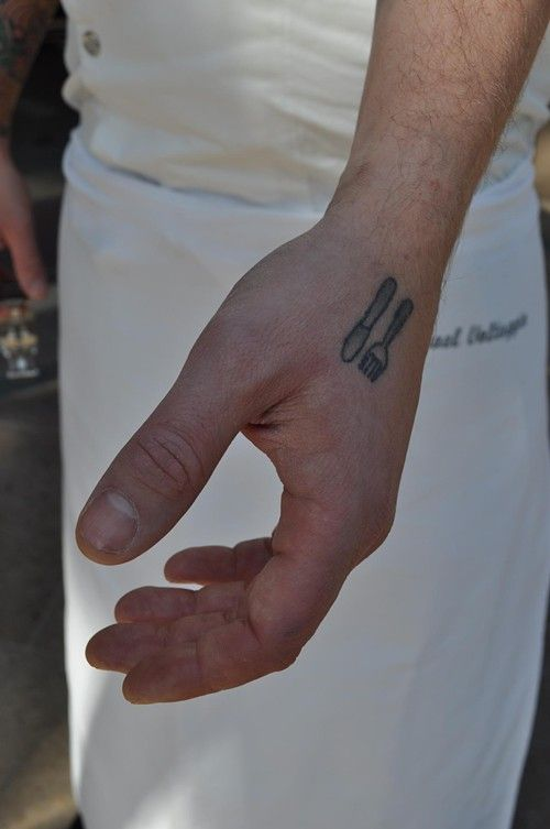 "For chefs, as for prisoners, soldiers and NBA point guards, a tattoo is a mark of individualism that can be worn with the uniform. It is often the only one that can. Click through for a photo gallery of Los Angeles chefs, and read the story ""Chef With Tattoos."""