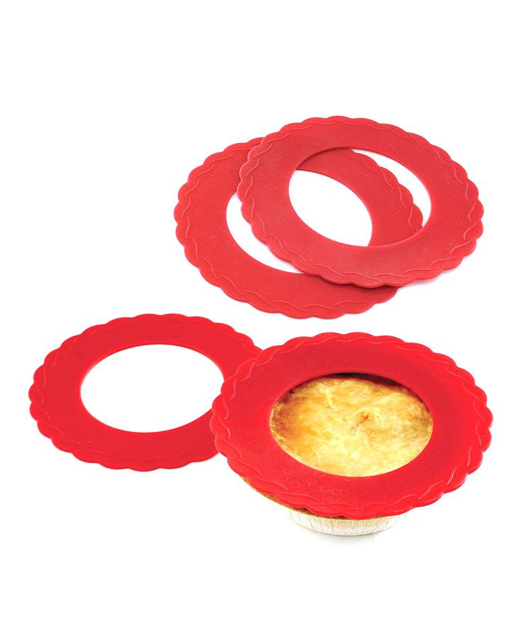 This Mini Pie Crust Shield - Set of Four by Norpro is perfect! #zulilyfinds
