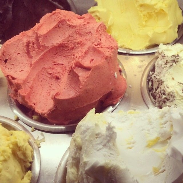 Dessert to go at our local | Gelato Messina