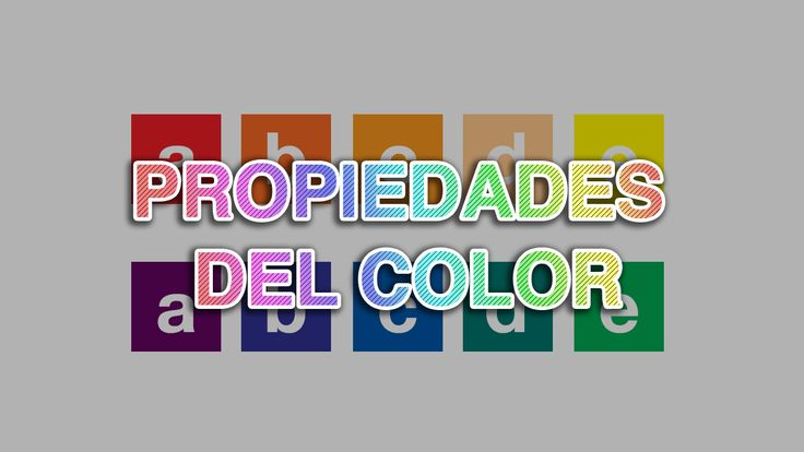 Las propiedades del color son la luminosidad, saturación, temperatura y contraste.