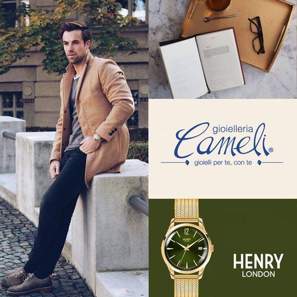 L'artigianato, la qualità e l'attenzione al dettaglio di un'epoca passata li hanno ispirati per reinventare orologi classici di lusso per la generazione di oggi.  Scopri gli orologi del prestigioso marchio Henry London alla gioielleria Cameli di #MonteUrano  #gioielli #Cameli #orologi #watches