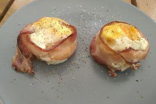 Fika med Pluttan: Ägg- och Bacon Muffins
