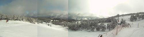Panoramica Manzaneda dende Telesilla Fontefría