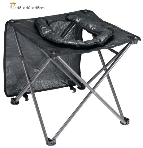 OZTRAIL PORTABLE CAMPING OUTDOOR TOILET CHAIR SEAT