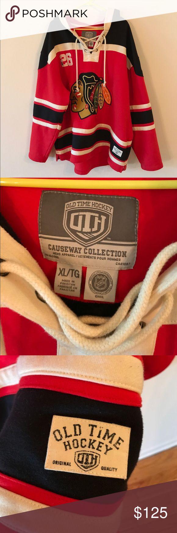 Blackhawks jersey sweatshirt Blackhawks jersey hoodie sweatshirt Sweaters Crewneck