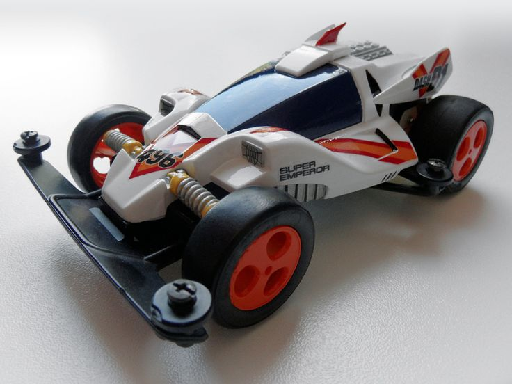 Dash 01 Super Emperor by Aran (anime version) | Mini 4WD | #Mini4WD | #Tamiya