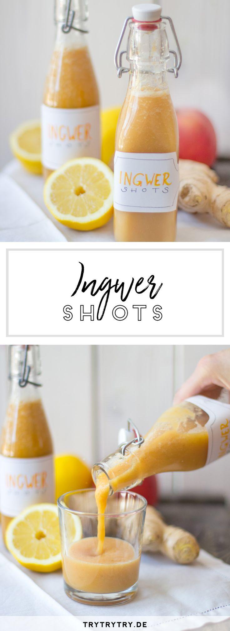 Ingwer Shots - so st�rkst du dein Immunsystem