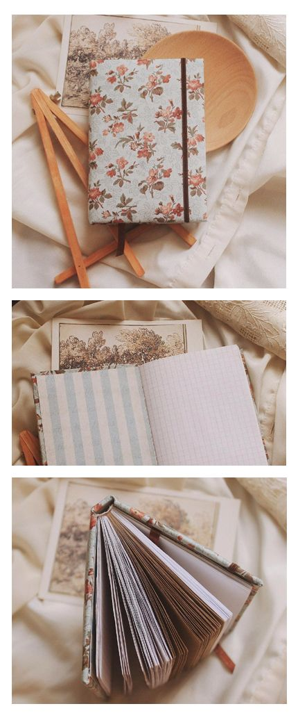 This handmade notebook with fabric cover is a nice present for any occasion for friends and for yourself. Perfect to fill with notes, recipes, goals, drawings, memories and photos. Creating each notebook we use only natural and high-quality materials, so that you can be sure that the notebook will serve you a long life. Read more at https://www.etsy.com/shop/PaperLeon