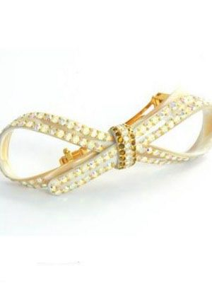 rhinestone-hair-clip-davidian-knot-ivory-mc-davidian-bow-barrette