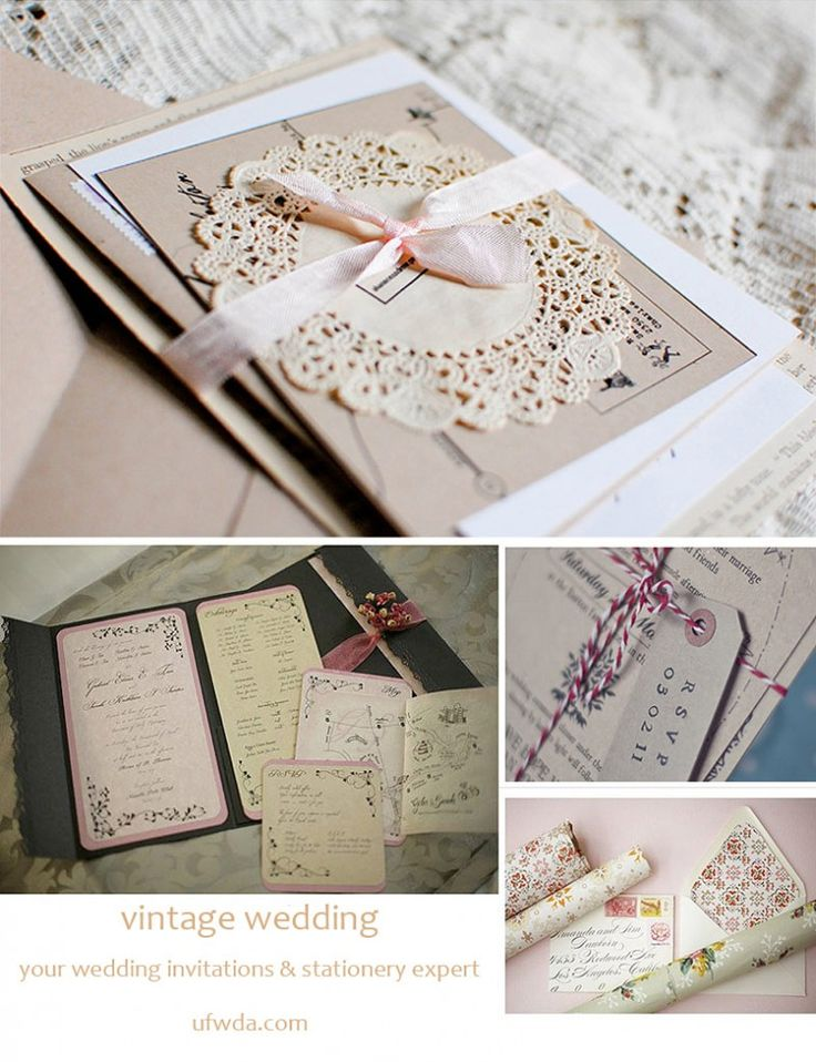 137 best vintage wedding ideas images on pinterest retro weddings vintage inspired wedding invitations junglespirit Image collections