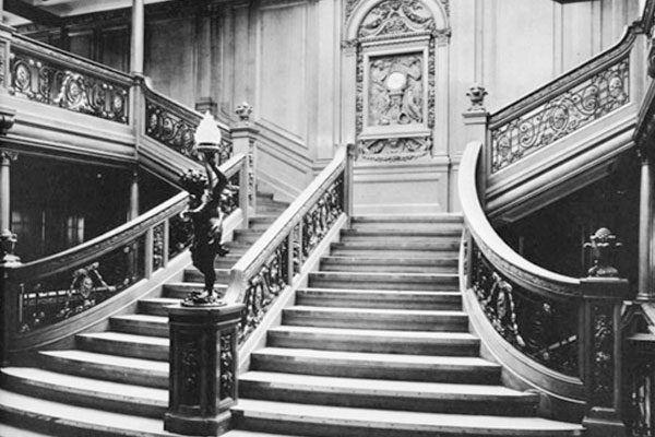 Imagenes antiguas tomadas antes y después del hundimiento del Titanic