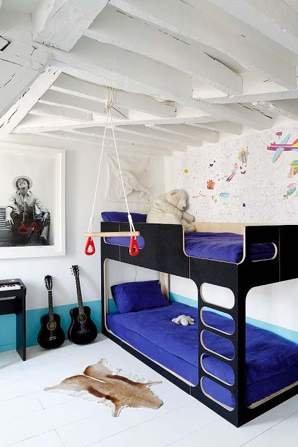 Une chambre de garçons... ou de marins