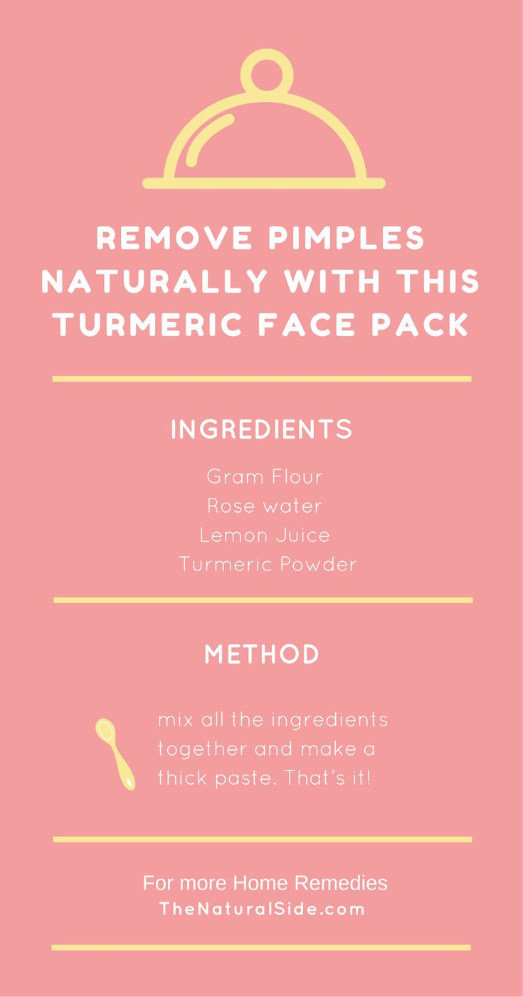 The Turmeric face pack is able to remove head bumps naturally, It also helps to cures the pimples, wrinkles and other skin problems.